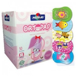 Ortopad Girls, Junior (0-2 years), Box w/50 u.